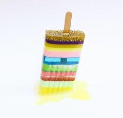 """""""Lemonade Stand""""-Original Resin Sculpture"""