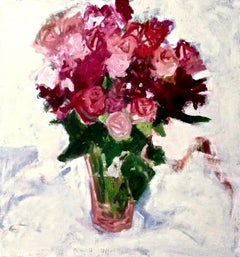 'Red Flowers Don't Wilt' By Betsy Podlach