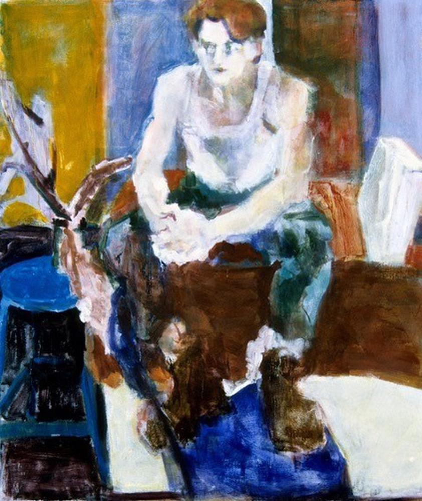 """""""Seated Man"""" by Betsy Podlach"""