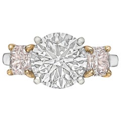 Betteridge 2.51 Carat Round Brilliant Diamond Engagement Ring