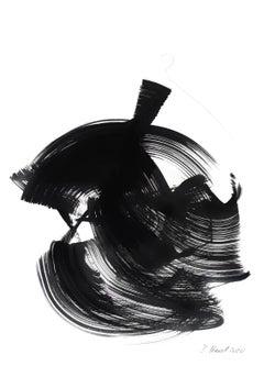 The Black Dress 32 - Original Ink Artwork