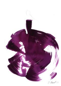 The Purple Dress - Original Ink Artwork