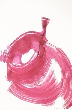 The Violet Dress 21 - Original Ink Artwork