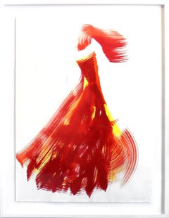 The Red Cloth 49 (framed)