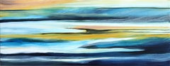 Water Meets Air IV - Original Abstract Landscape Painting