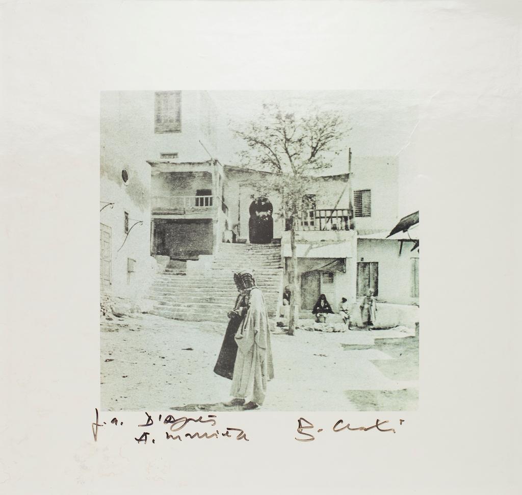 Arabic Village - Original Photolithograph - 1990s