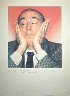 Gli Extra-Terrestri - Original Photolithograph by Bettino Craxi - 1990s