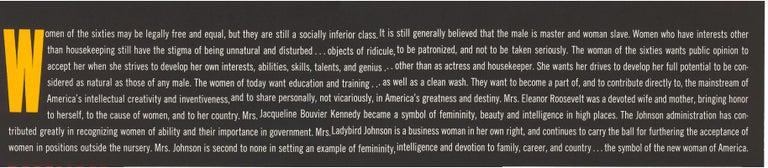 December 1965 Perennial Woman Calendar For Sale 1
