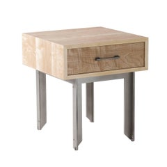 Betty Console, American Hardwood and Steel