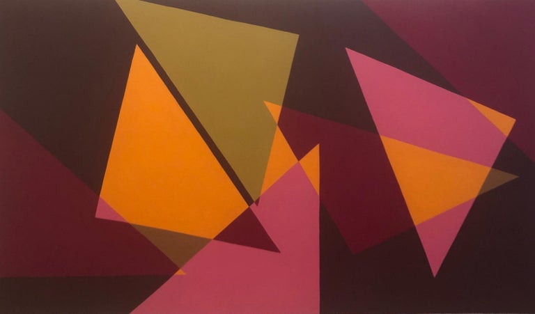 Betty Gold Abstract Painting - Picos III