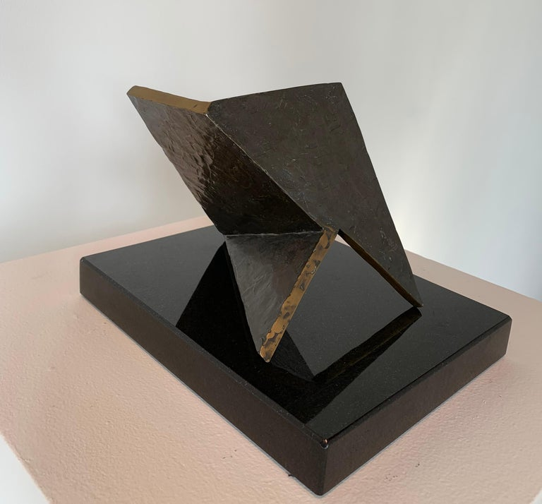 Betty Gold Abstract Sculpture - Holistic 2