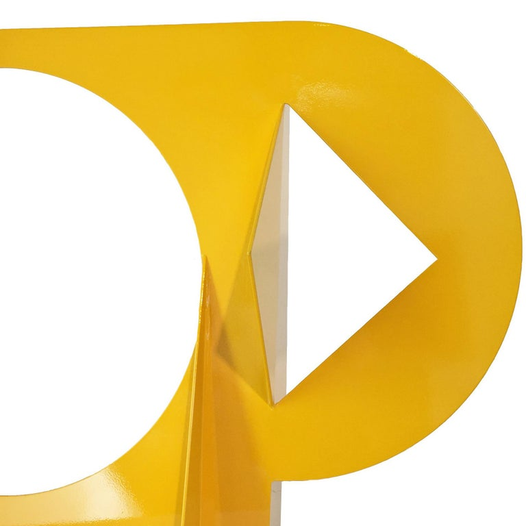 Mallorca V - Abstract Geometric Sculpture by Betty Gold