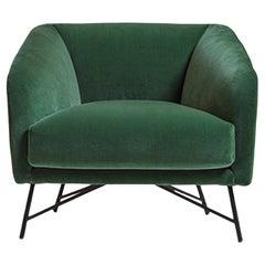 Betty Green Armchair by Angeletti Ruzza