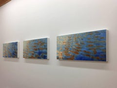Basterdorff Gold triptych / oil on panel (three paintings)