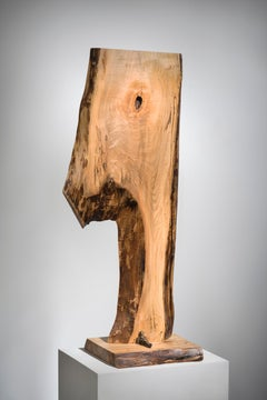 Minimal Abstract wood Sculpture: 'Repose'