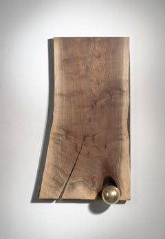 Wood sculpture: 'Castaway'