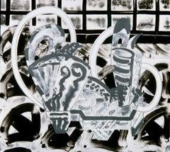 Minoan Pitchers/Oribe Tray