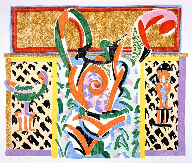 Betty Woodman Print - Pompeian Garden