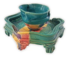 Tea Bowl & Cup with Stand