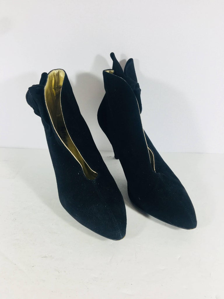 Black Bettye Muller Boots For Sale