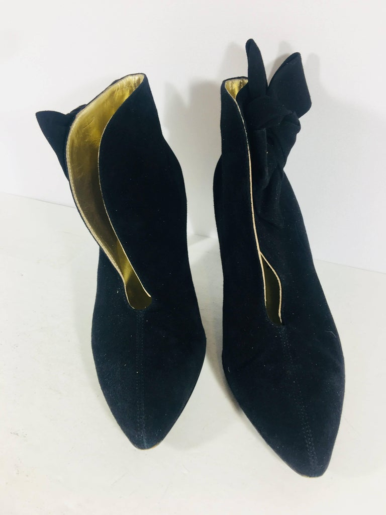 Bettye Muller Boots In Excellent Condition For Sale In Bridgehampton, NY
