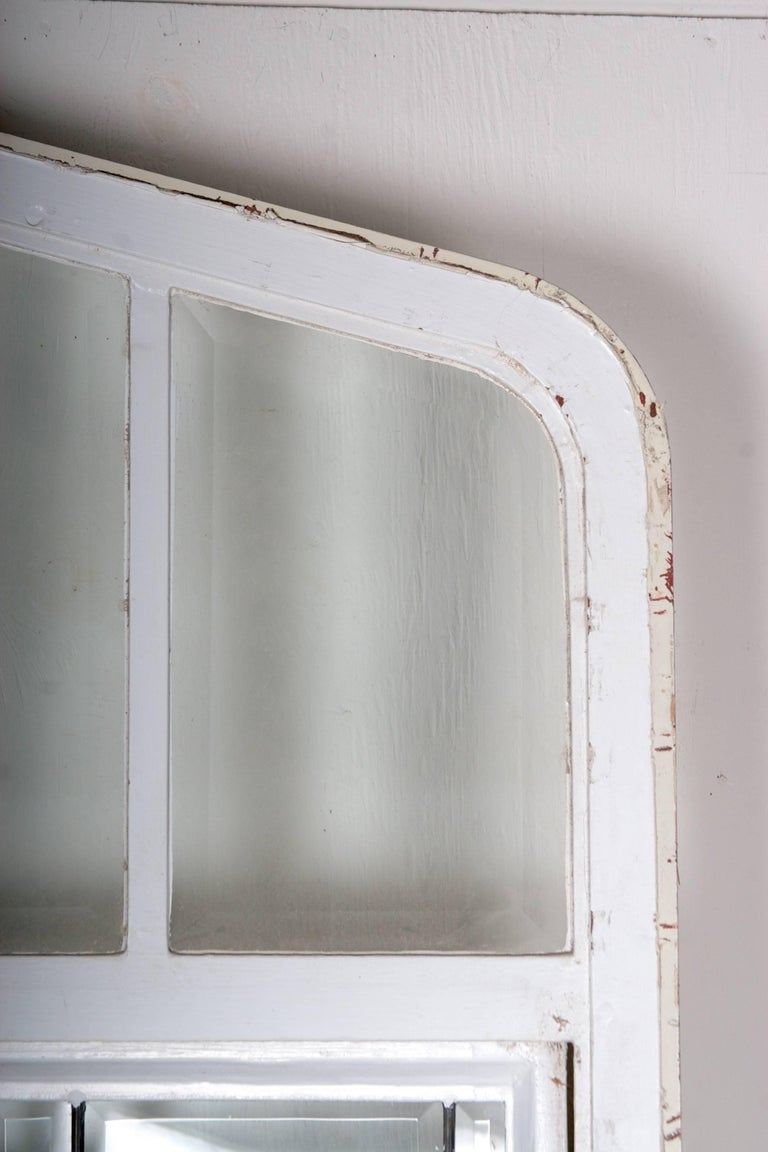 Beveled Leaded Glass Window, circa 1910, 1 Window For Sale 10