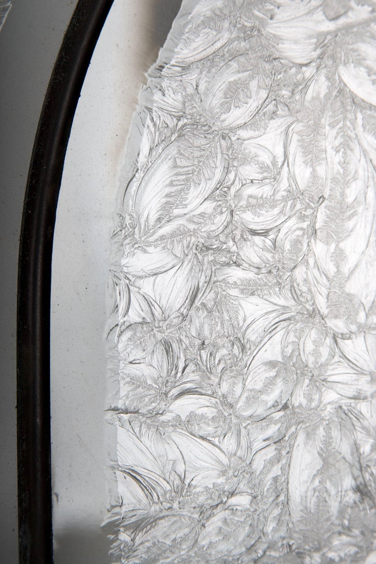 Beveled Leaded Glass Windows, circa 1910,  12 Windows- For Sale 5