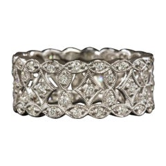 Beverly K 1 Carat White Diamond Gold Cocktail Ring