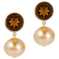 Goshwara Bezel Set Round Earrings