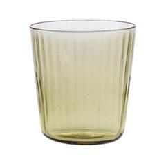 Bicchierino, Liquor Glass Handcrafted Muranese Glass, Angora Plisse MUN by VG