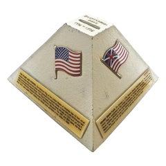 Bicentennial Cast Iron Still Bank, American, Circa 1976