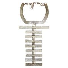 Biche de Bere Vintage Massive Limited Edition Graffitis Plastron Necklace