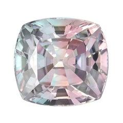 Bicolor Tourmaline Ring Gem 29.22 Carat Cushion Loose Gemstone