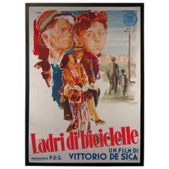 Bicycle Thieves '1948' Poster