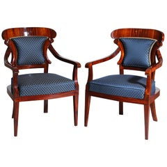 Biedermeier Armchairs, Germany, circa 1830