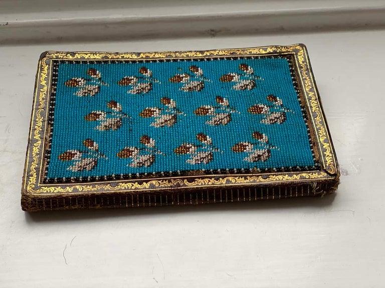 Biedermeier Beadwork, Notebook  For Sale 1