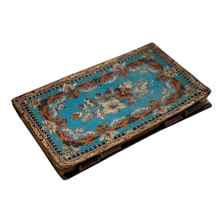 Biedermeier Beadwork, Notebook  For Sale