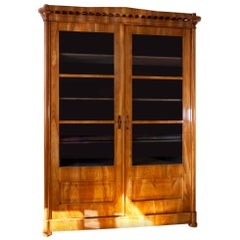 Biedermeier Bookcase, Saxony 1840s