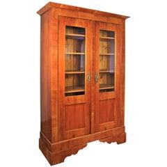 Biedermeier Cabinet Bookcase, Austria, circa 1840