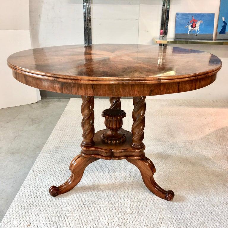 Biedermeier Center Table Gueridon For Sale 3
