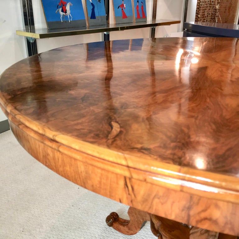 Biedermeier Center Table Gueridon For Sale 4