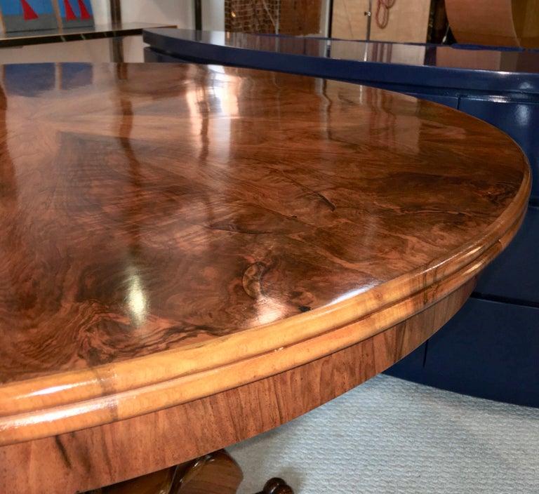 Biedermeier Center Table Gueridon For Sale 5