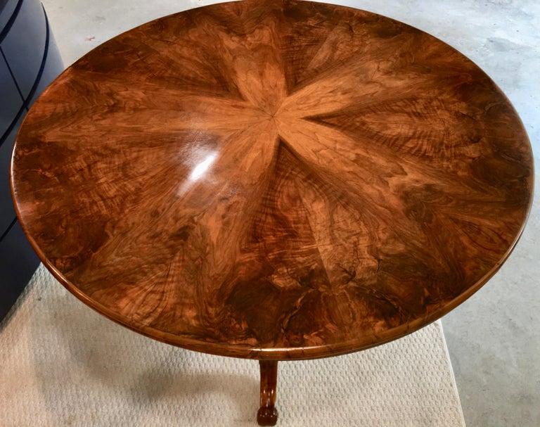 Biedermeier Center Table Gueridon For Sale 7