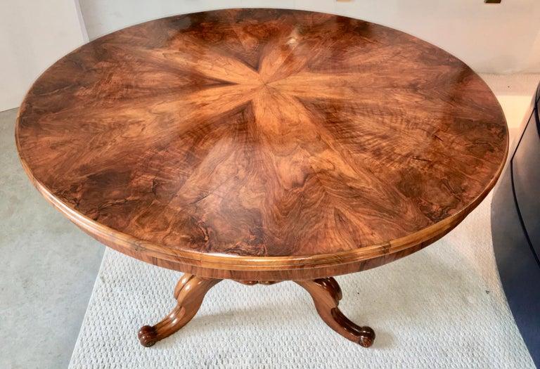 Biedermeier Center Table Gueridon For Sale 9