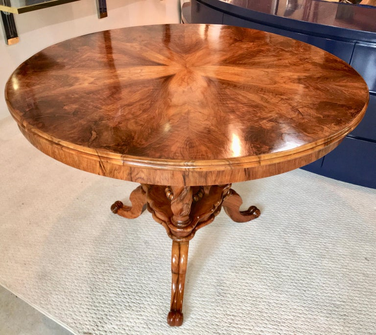 Biedermeier Center Table Gueridon For Sale 10