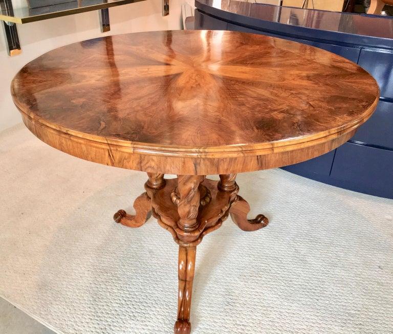 Biedermeier Center Table Gueridon For Sale 11
