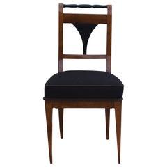 Biedermeier Chair, Cherry Veneer, South Germany, circa 1830