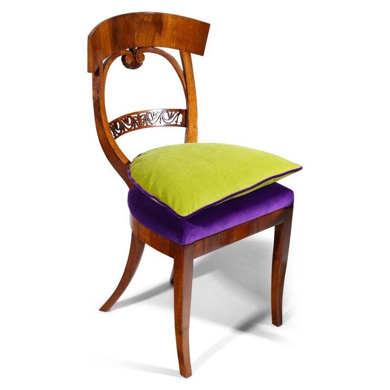 Early 19th Century Biedermeier Chairs, circa 1820 For Sale