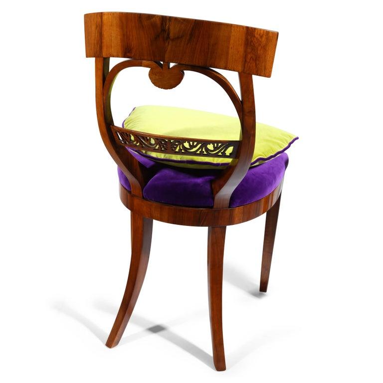 Wood Biedermeier Chairs, circa 1820 For Sale