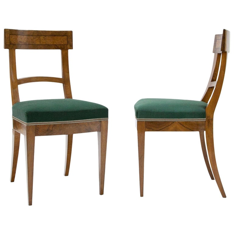 Home Furniture For Sale: Biedermeier Chairs, Circa 1820 For Sale At 1stdibs